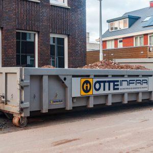 Container huren Regio Utrecht 3m3, 6m3, 8m3, 10m3, 15m3, 20m3, Bouw- en sloopafval, Hout, Grond, Zand, Puin