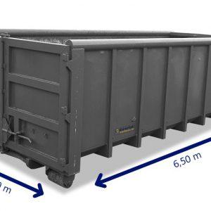 20m3 container huren hout, bouw- en sloopafval, grond, groenafval, asfalt, puin